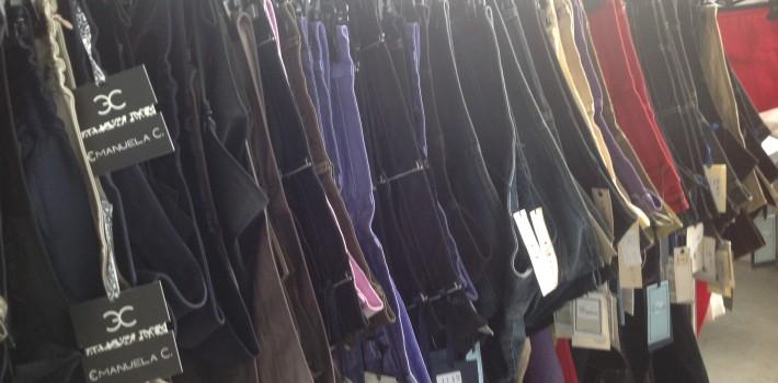 stocchista abbigliamento online